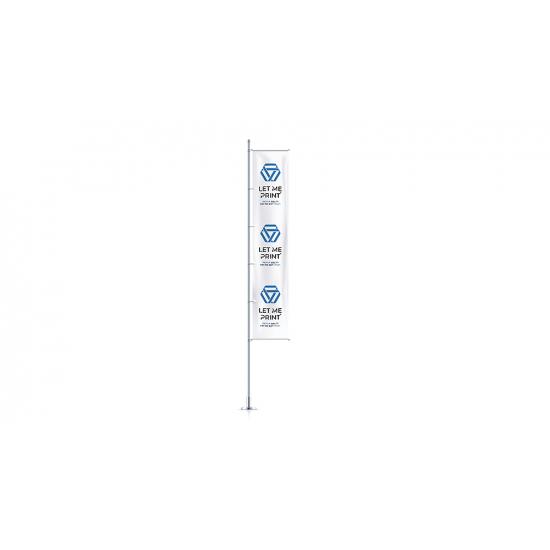 Hissflaggen für Masten mit Ausleger