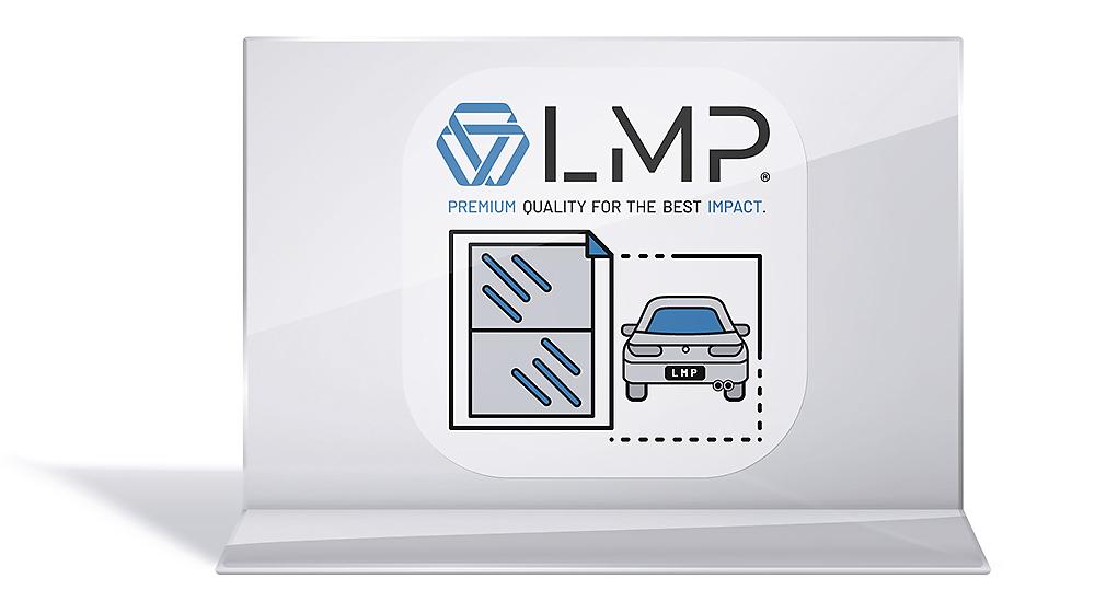 Hinterglasaufkleber Auto aus PVC-Folie für außen und innen