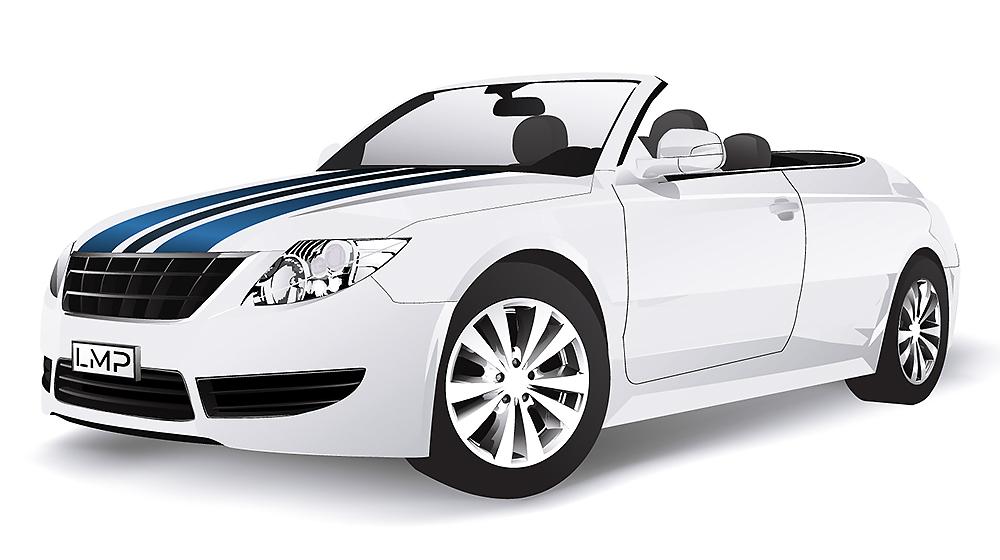 Teilfolierung Individuelles Design für Ihr Auto