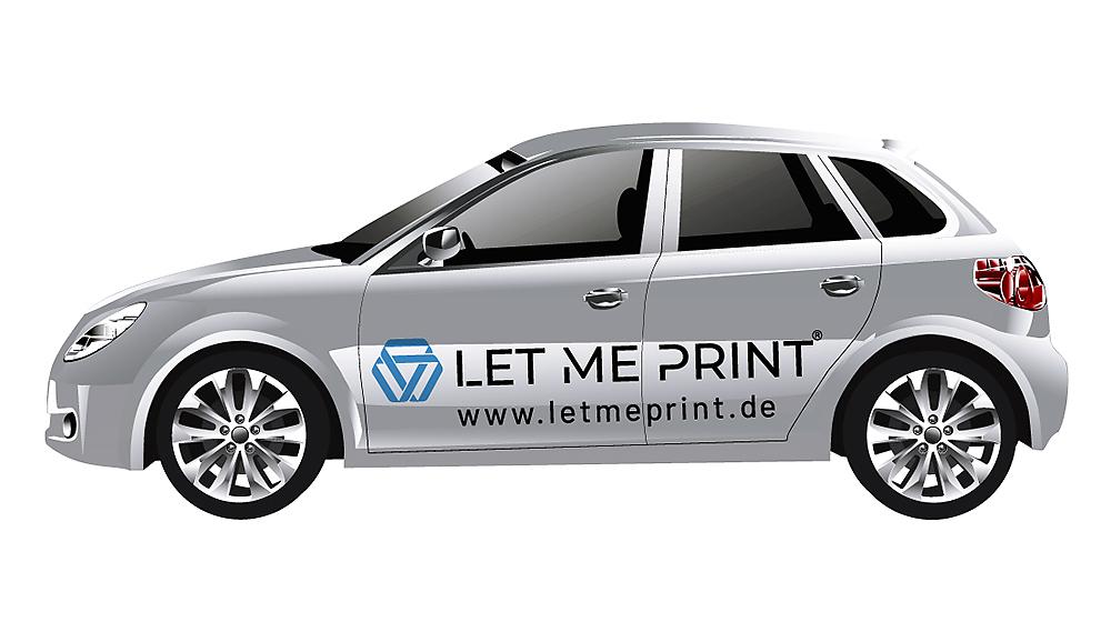 Fahrzeugbeschriftung online bestellen in Top-Qualität