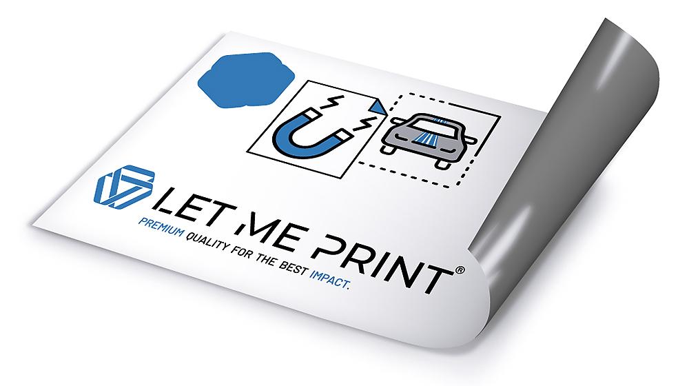 Magnetfolie Auto Werbung für Ihr Fahrzeug