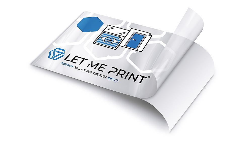 Glasdekorfolie Tür im modernen Digitaldruck-Verfahren