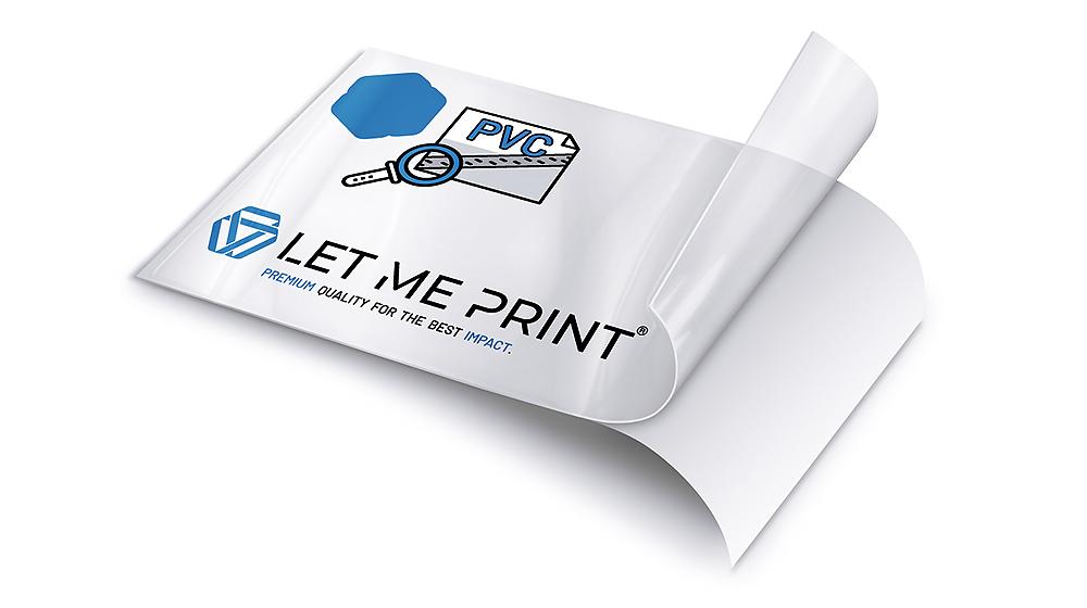 PVC Folie transparent freie Sicht