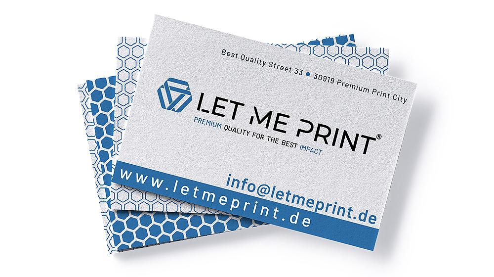 Visitenkarten Recyclingpapier für mehr Nachhaltigkeit