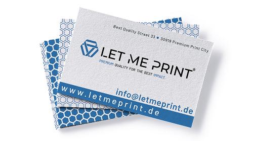 Visitenkarten Recyclingpapier