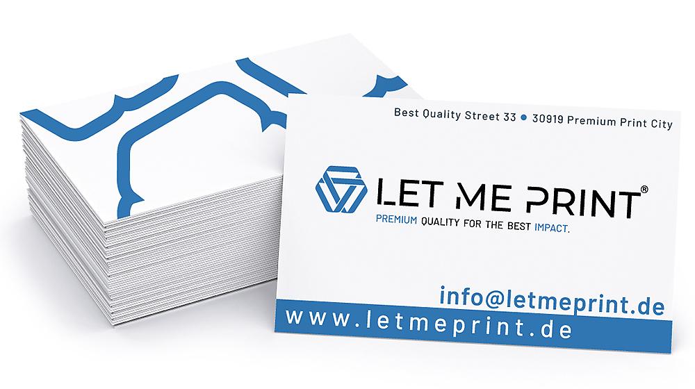 Visitenkarten erstellen als Werbeträger Ihres Unternehmens