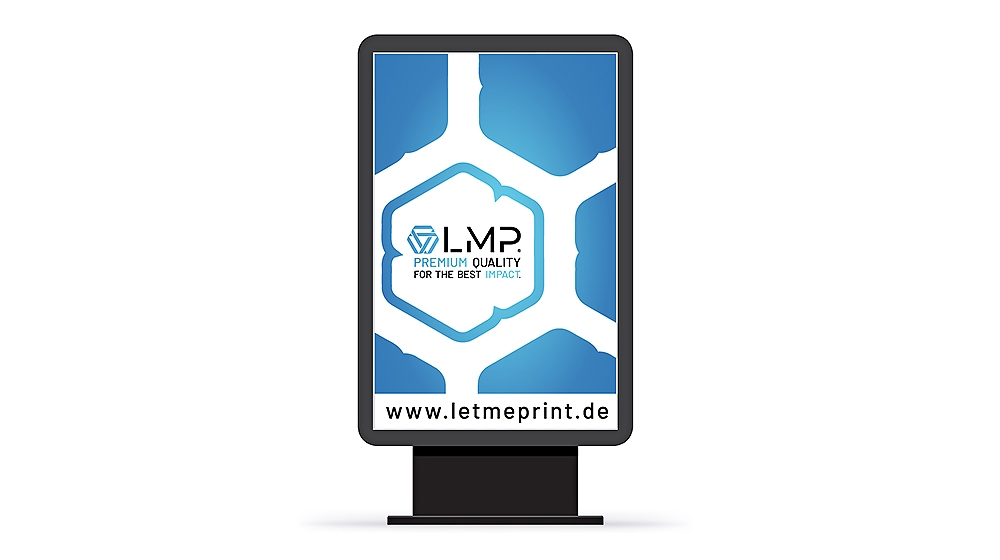 Mega Light Plakate ein Premium Werbeträger