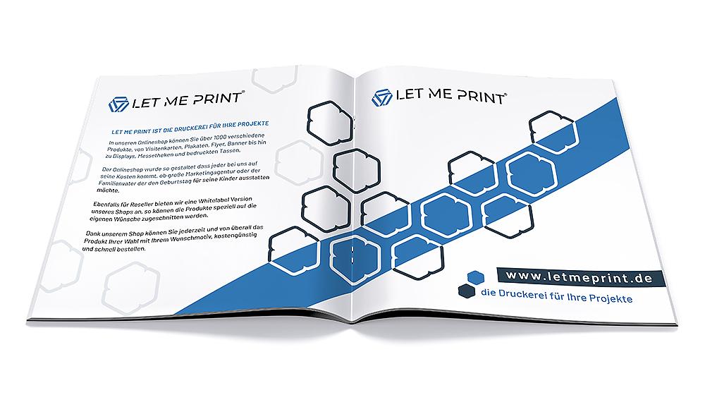 Broschüre mit Drahtheftung als perfektes Instrument für Ihr Marketing