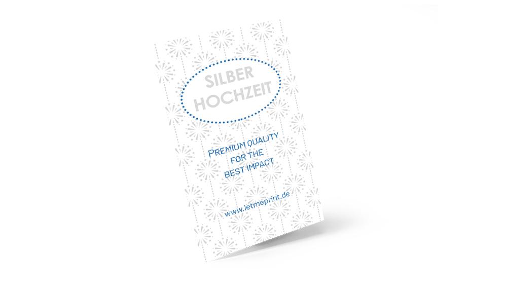 Silberne Hochzeit Einladungskarten für Ihre Feier