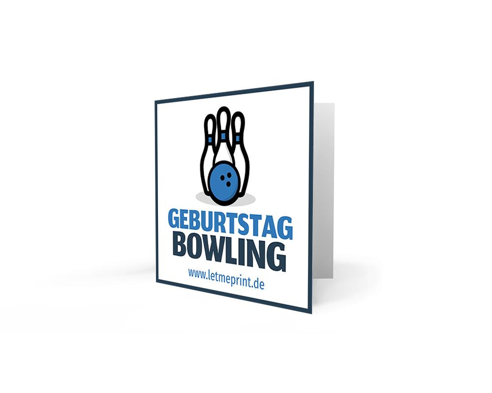 Geburtstag kostenlos ausdrucken bowling einladungen Drucke selbst!