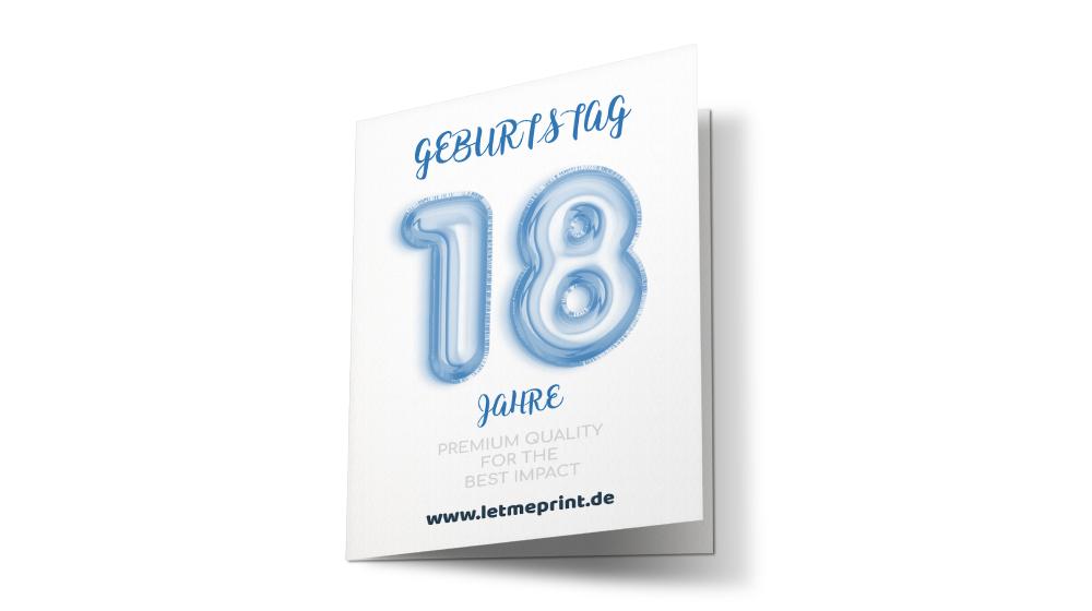 Geburtstagseinladung 18 Geburtstag selbst gestalten