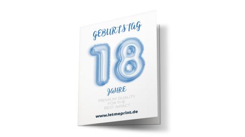 Geburtstagseinladung 18