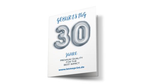 Geburtstagseinladung 30