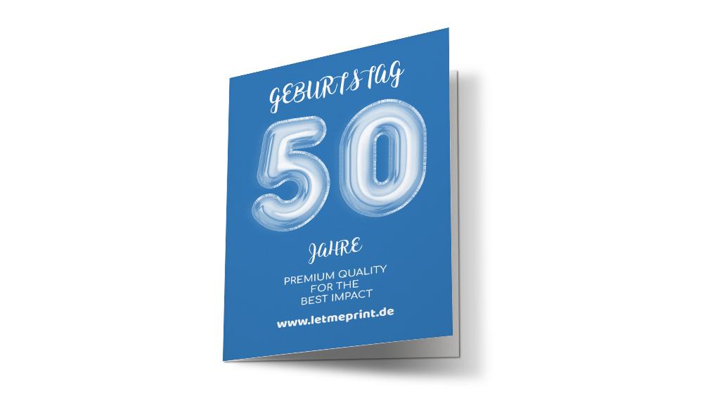 Geburtstagseinladung 50 zum runden Geburtstag