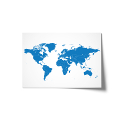 Schreibtischunterlage Weltkarte