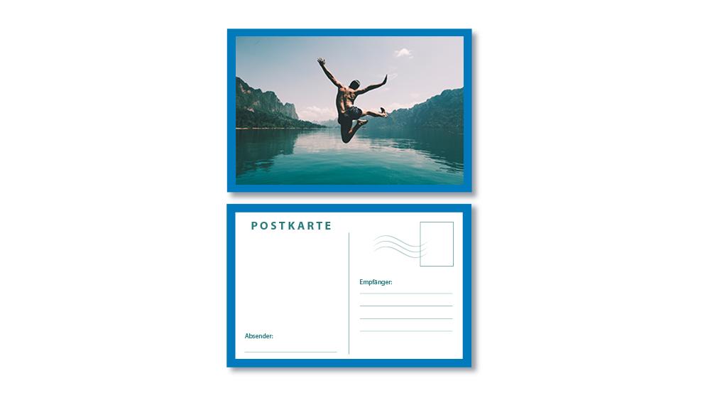 Foto Postkarte für jeden Anlass