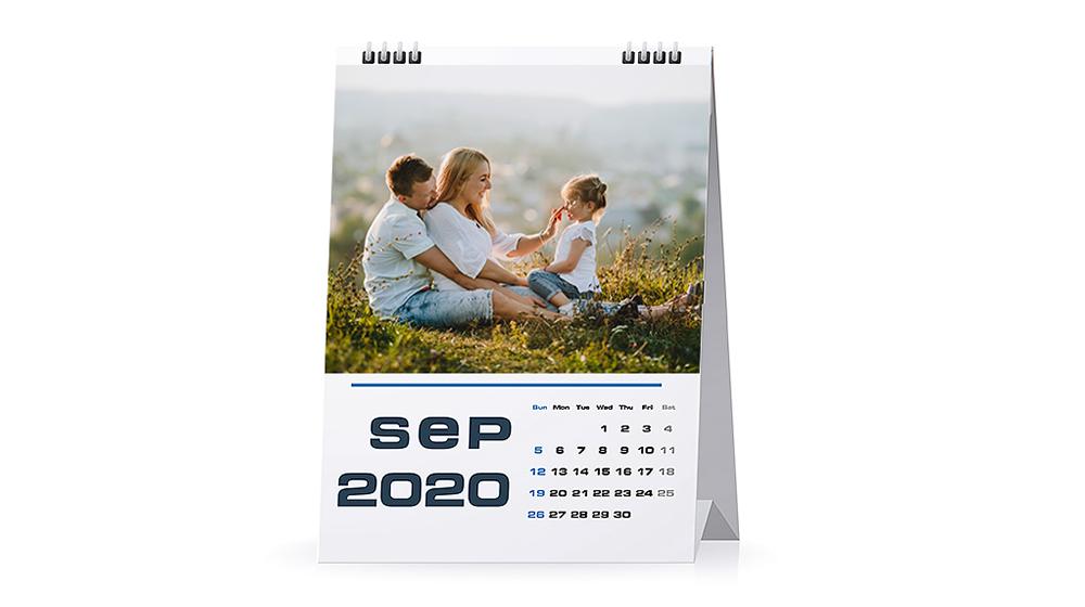 Foto Tischkalender schnell und einfach erstellen