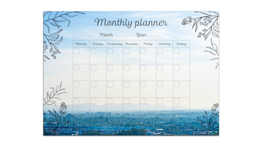 Foto Jahresplaner für Ihre wichtigsten Termine
