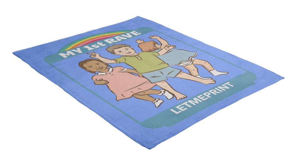 Decke bedrucken als Kuscheldecke