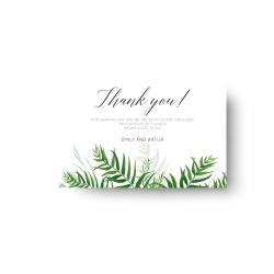 Dankeskarten Hochzeit drucken