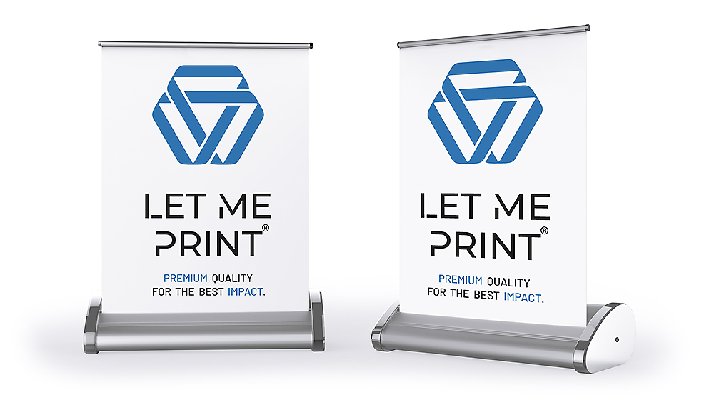 Mini Roll up überzeugen im A3- und A4-Format