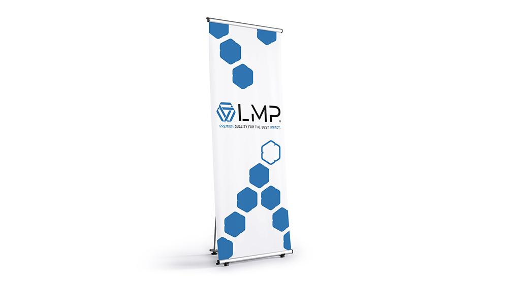 L Display Ihr Banner für eine überzeugende Werbung
