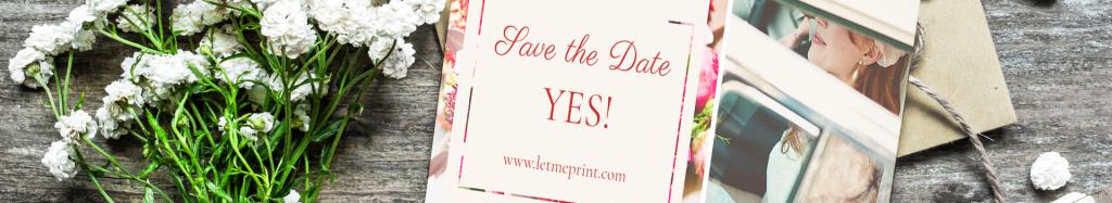 Hochzeit wunderschöne Geschenke für Ihre Gäste | Letmeprint
