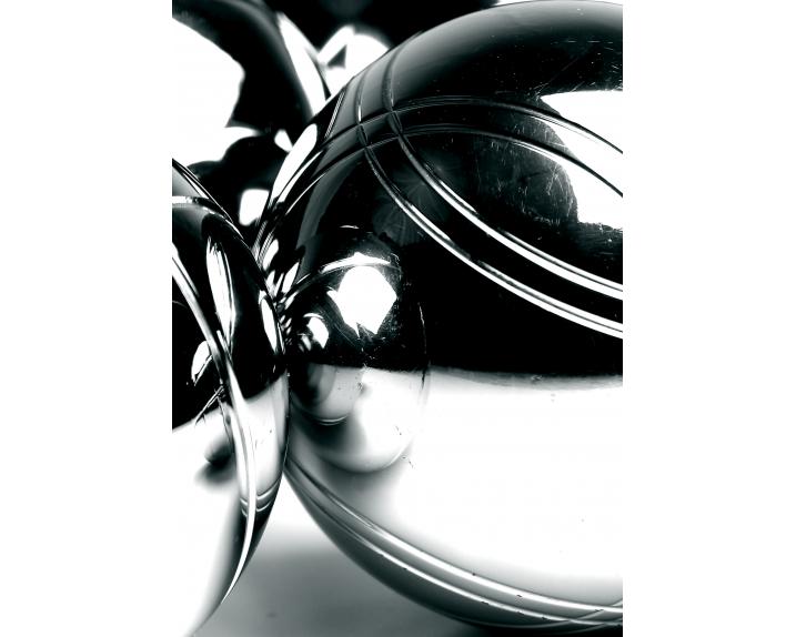 Boccie Balls / Schwarz / Weiß